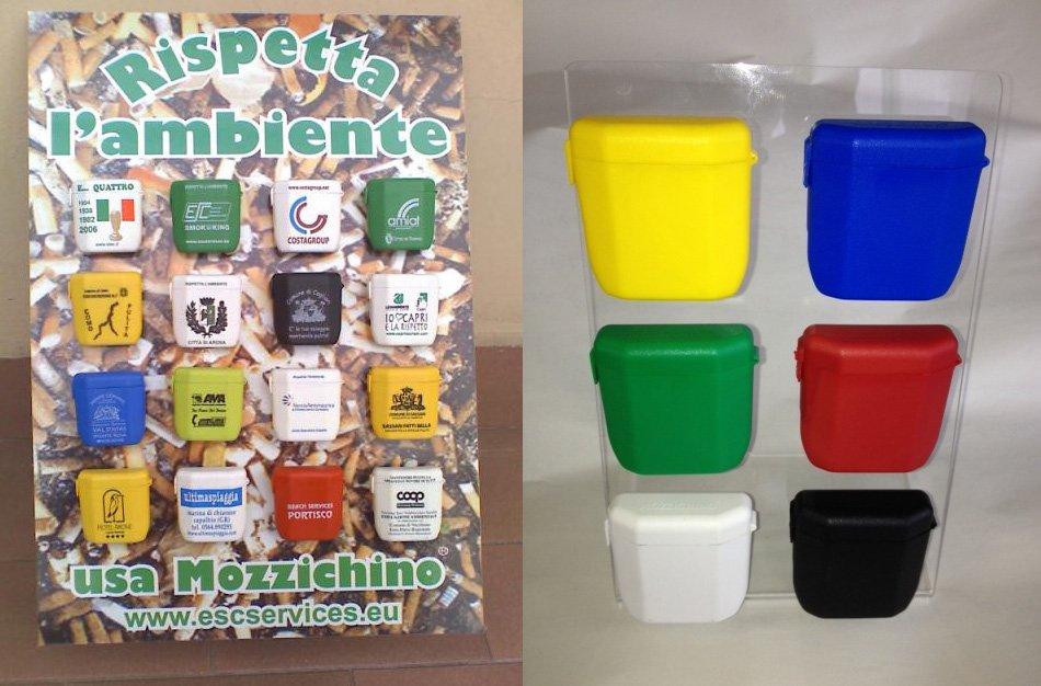 Mozzichino <p> Posacenere tascabile personalizzabile