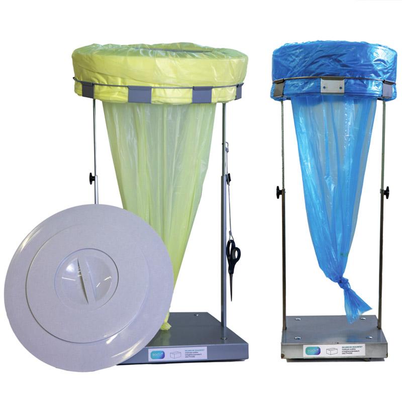Cestino per rifiuti a sacco continuo <p> Eco Roller