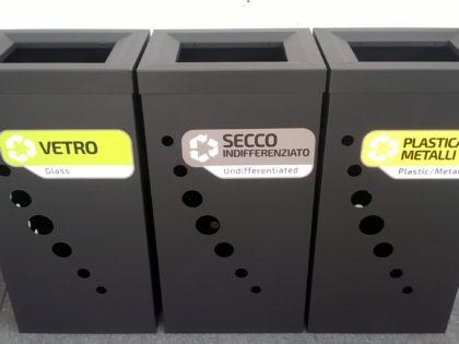 Contenitori Eco Light <p>Acciaio inox e Metallo Verniciato