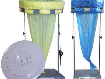 Eco Roller<P>Cestino per rifiuti a sacco continuo